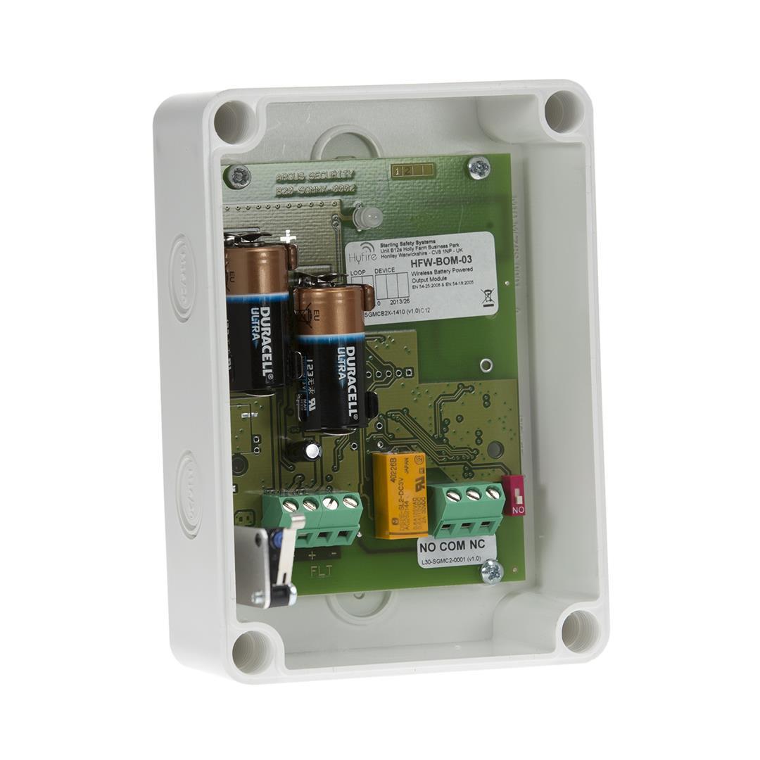 Wireless Single Channel Battery Powered Output Module