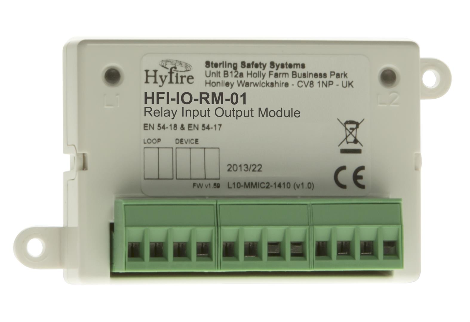Intelligent Input and Relay Output Module (Mini Mount)