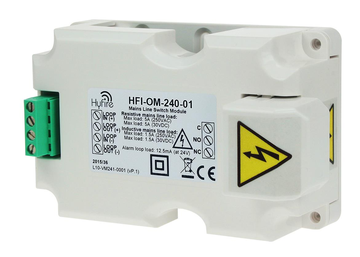 Mains Rated Relay Unit