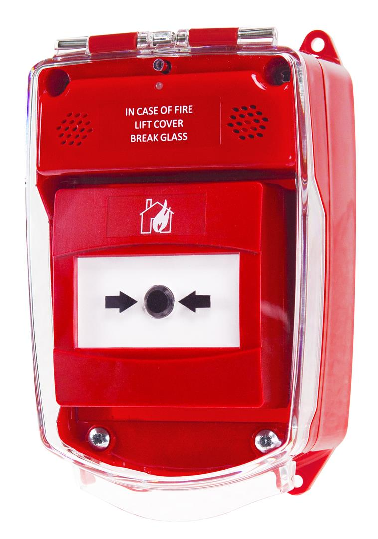 Weatherproof Call Point Housing (Red)