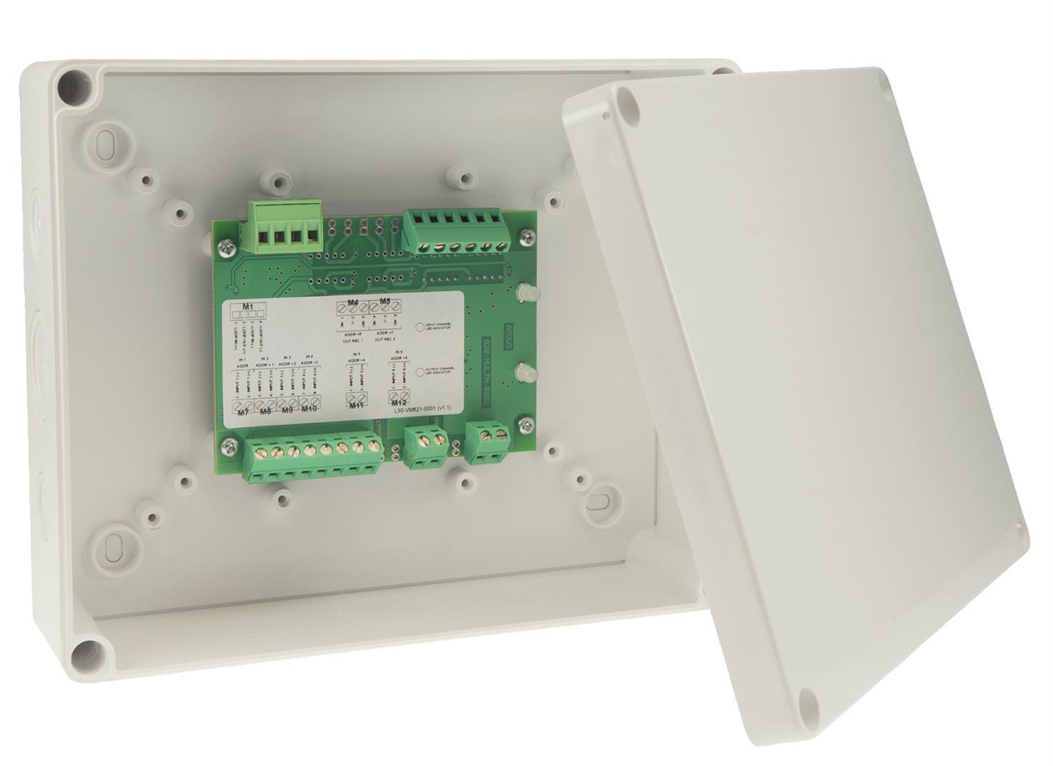 Vega Multiway I/O Unit 4XInput, 2XRelay Output, 2XSupervised Output