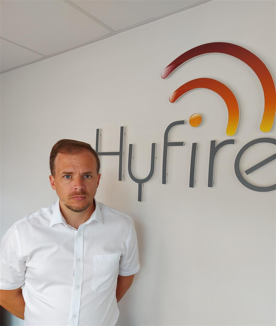 INDUSTRY LEGEND JOINS HYFIRE AS TECHNICAL MANAGER