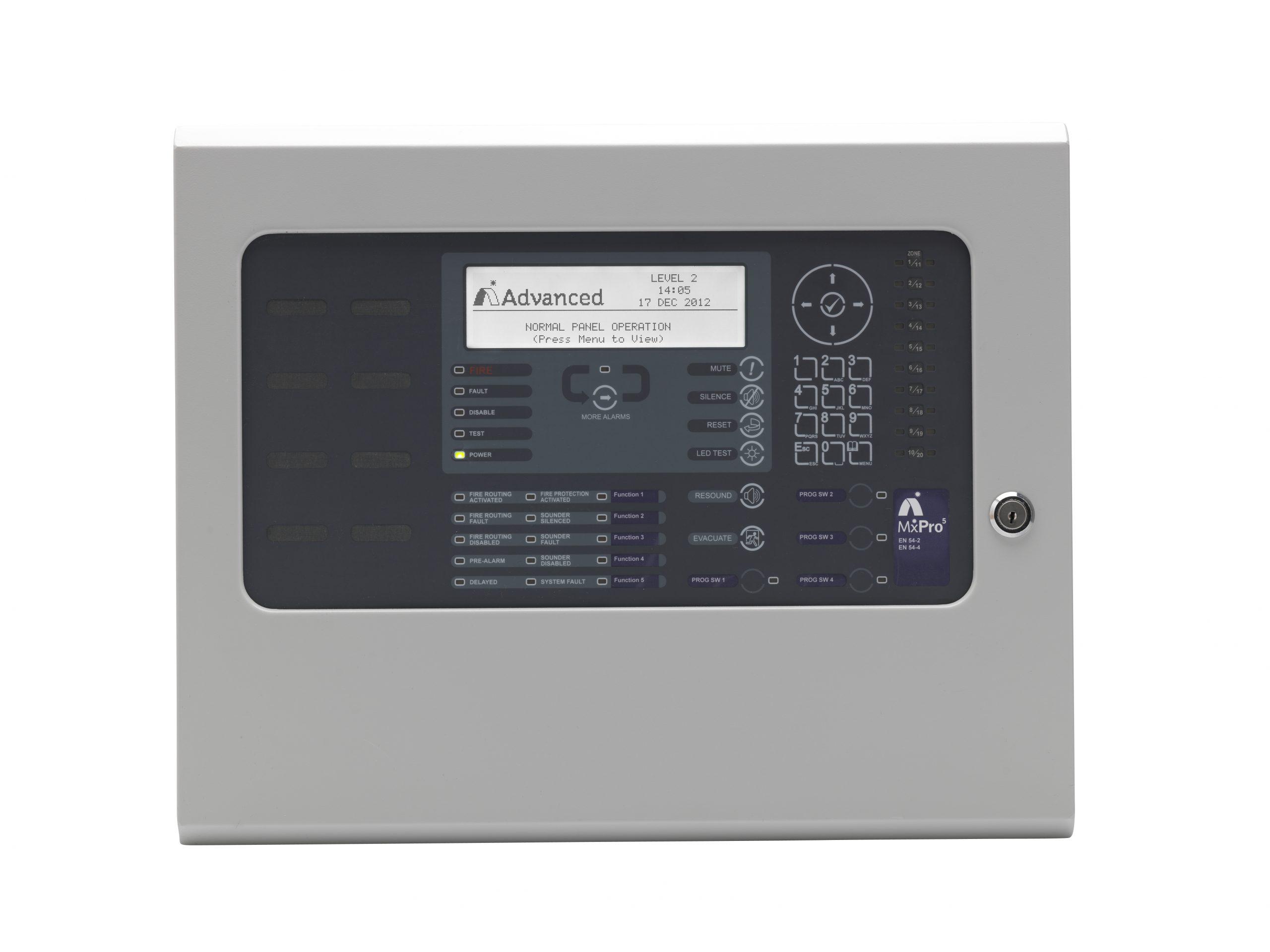 1-2 Loop Fire Alarm Control Panel
