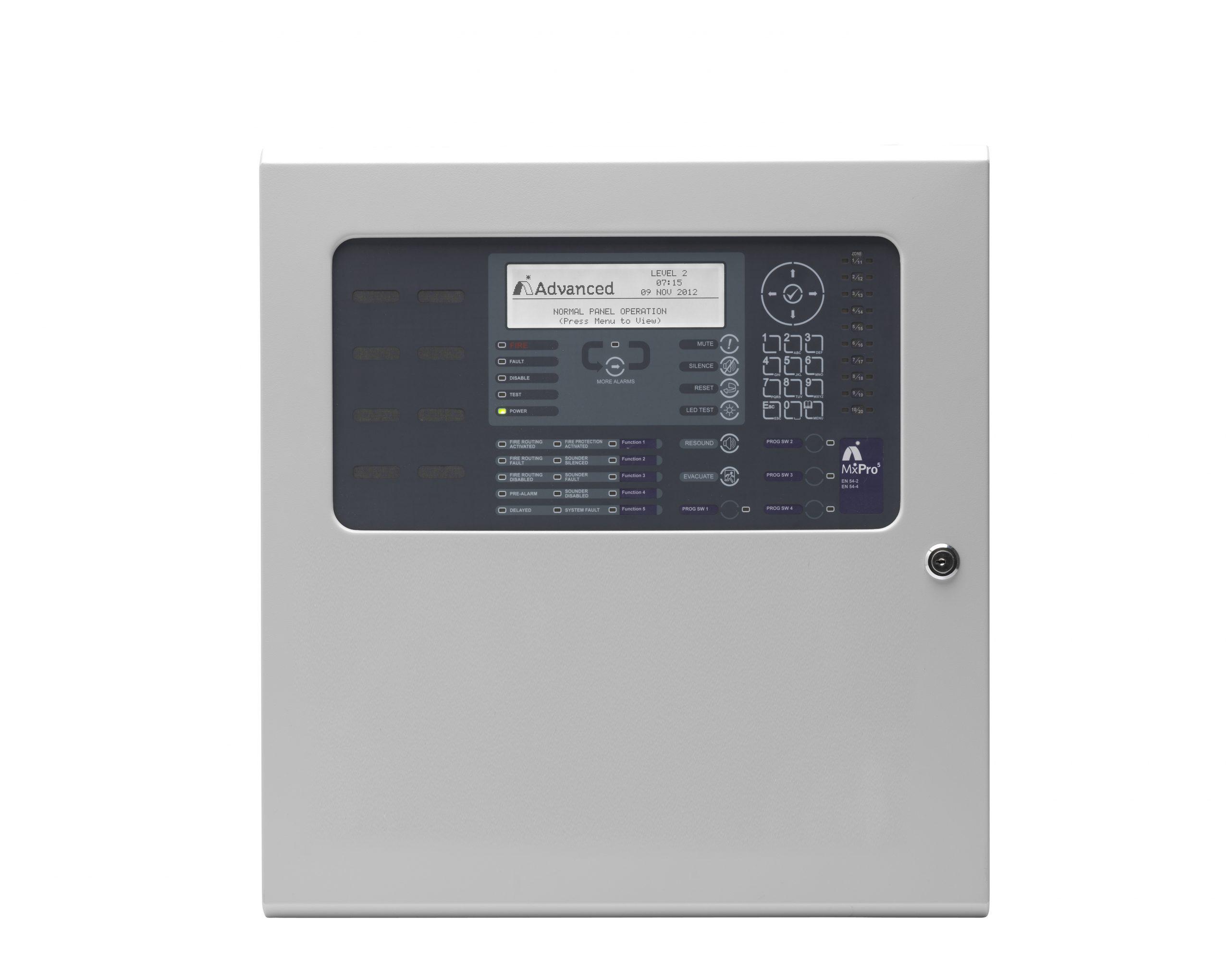 1-4 Loop Fire Alarm Control Panel